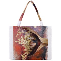 Red Mask Tiny Tote Bags