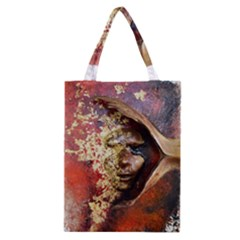 Red Mask Classic Tote Bags