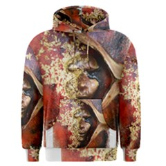 Red Mask Men s Pullover Hoodies