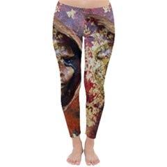 Red Mask Winter Leggings