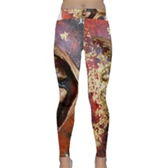 Red Mask Yoga Leggings