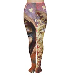 Red Mask Women s Tights