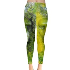 Green Mask Women s Leggings