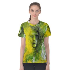 Green Mask Women s Cotton Tees