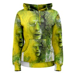 Green Mask Women s Pullover Hoodies