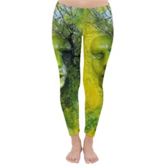 Green Mask Winter Leggings