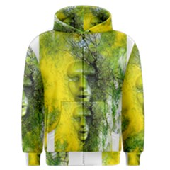 Green Mask Men s Zipper Hoodies