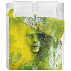 Green Mask Duvet Cover (double Size)
