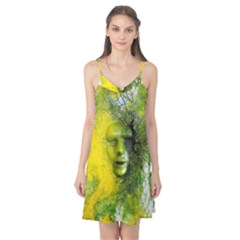 Green Mask Camis Nightgown