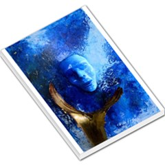 BLue Mask Large Memo Pads