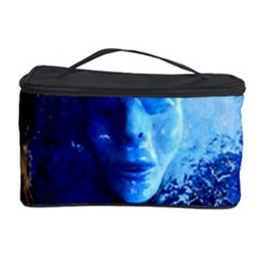 BLue Mask Cosmetic Storage Cases