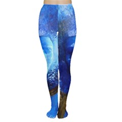 BLue Mask Women s Tights