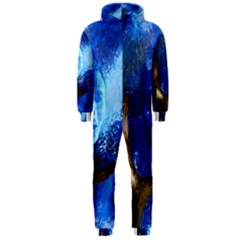 BLue Mask Hooded Jumpsuit (Men)