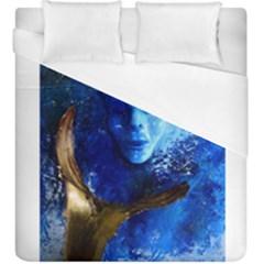 Blue Mask Duvet Cover Single Side (kingsize)