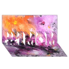 Nebula #1 Mom 3d Greeting Cards (8x4)