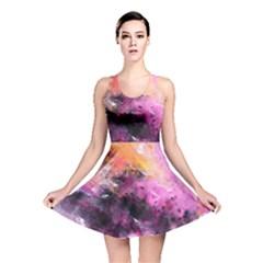 Nebula Reversible Skater Dresses
