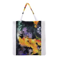 Space Odessy Grocery Tote Bags