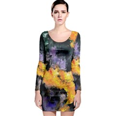 Space Odessy Long Sleeve Bodycon Dresses