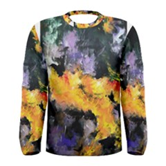 Space Odessy Men s Long Sleeve T Shirts