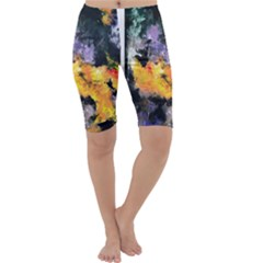 Space Odessy Cropped Leggings