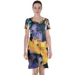 Space Odessy Short Sleeve Nightdresses