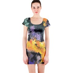 Space Odessy Short Sleeve Bodycon Dresses