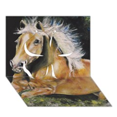 Mustang Clover 3d Greeting Card (7x5)