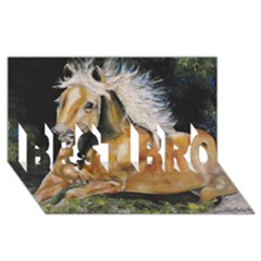 Mustang BEST BRO 3D Greeting Card (8x4)