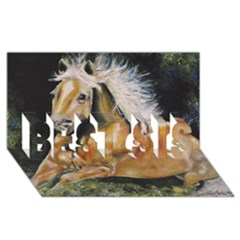 Mustang BEST SIS 3D Greeting Card (8x4)
