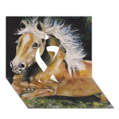Mustang Ribbon 3D Greeting Card (7x5)