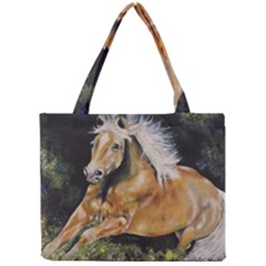 Mustang Tiny Tote Bags