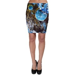 Space Horses Bodycon Skirts