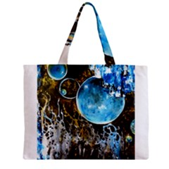 Space Horses Zipper Tiny Tote Bags