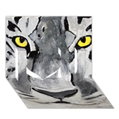 The Eye Of The Tiger I Love You 3D Greeting Card (7x5)