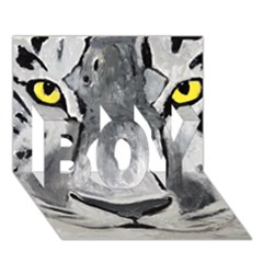 The Eye Of The Tiger BOY 3D Greeting Card (7x5)