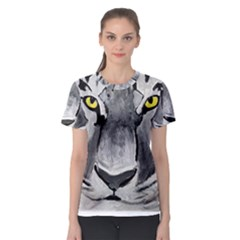 The Eye Of The Tiger Women s Sport Mesh Tees