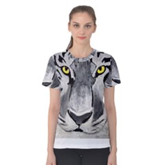 The Eye Of The Tiger Women s Cotton Tees