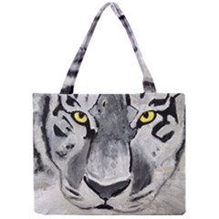 The Eye Of The Tiger Tiny Tote Bags
