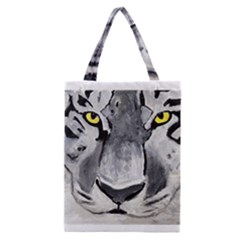 The Eye Of The Tiger Classic Tote Bags