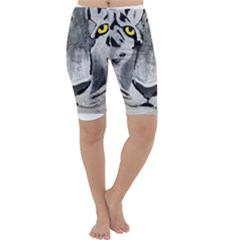 The Eye Of The Tiger Cropped Leggings
