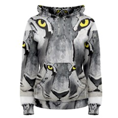 The Eye Of The Tiger Women s Pullover Hoodies