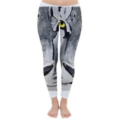 The Eye Of The Tiger Winter Leggings