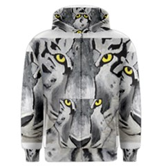 The Eye Of The Tiger Men s Zipper Hoodies