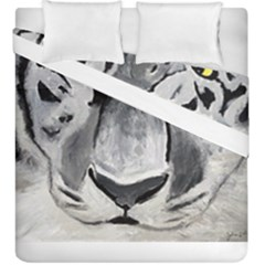 The Eye Of The Tiger Duvet Cover (king Size)