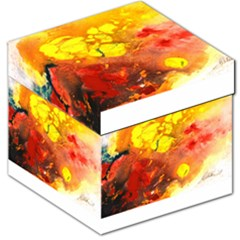 Fire, Lava Rock Storage Stool 12
