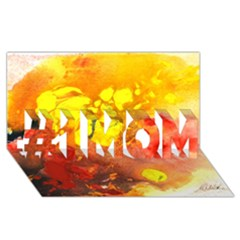 Fire, Lava Rock #1 MOM 3D Greeting Cards (8x4)