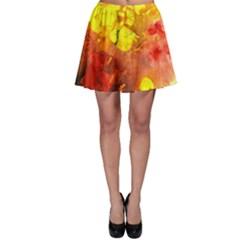 Fire, Lava Rock Skater Skirts