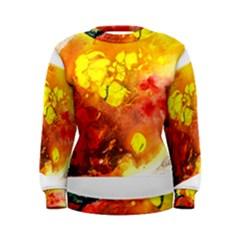 Fire, Lava Rock Women s Sweatshirts