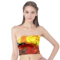 Fire, Lava Rock Women s Tube Tops