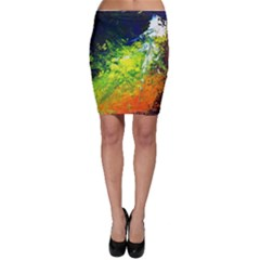 Abstract Landscape Bodycon Skirts